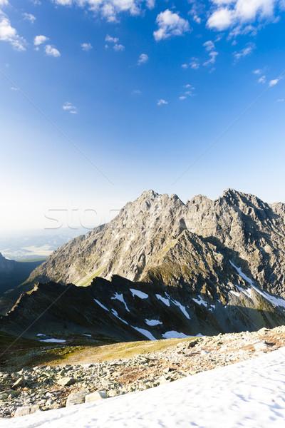 Alto Eslováquia paisagem neve europa silêncio Foto stock © phbcz