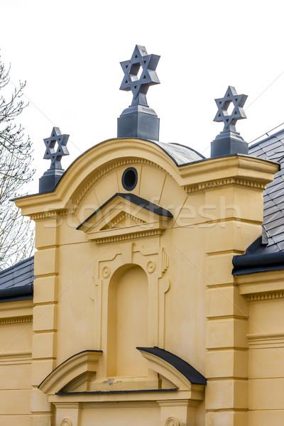 Synagoge Tsjechische Republiek kerk reizen architectuur Europa Stockfoto © phbcz