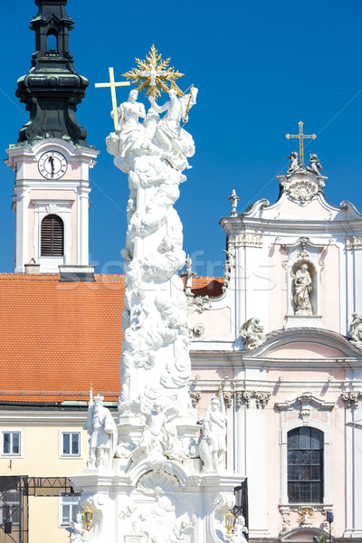 Rathausplatz, Sankt Polten, Lower Austria, Austria Stock photo © phbcz