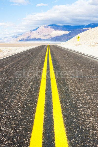 road, Death Valley National Park, California, USA Stock photo © phbcz