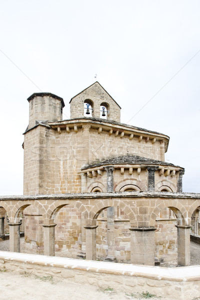 Church of Saint Mary of Eunate, Road to Santiago de Compostela,  Stock photo © phbcz