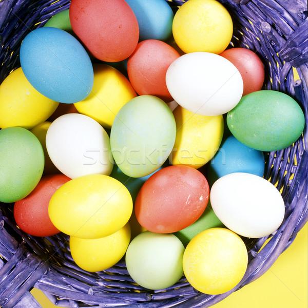 Easter eggs Stock photo © phbcz