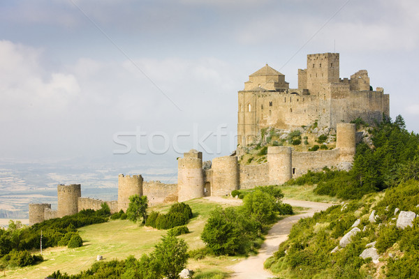 Stock photo: Loarre Castle, Huesca Province, Aragon, Spain