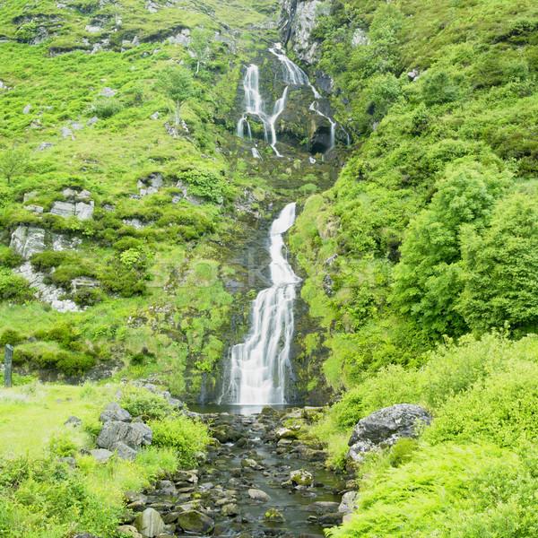 ストックフォト: 滝 · アイルランド · 水 · 自然 · 旅行 · 川