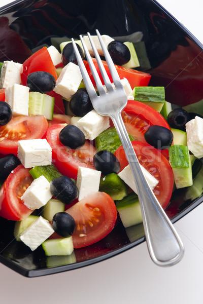 Greek salad Stock photo © phbcz