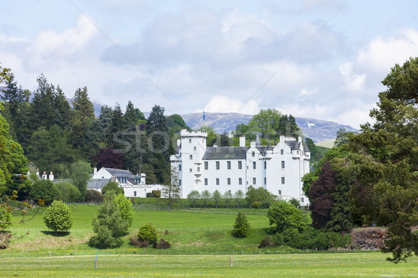 Blair Castle, Perthshire, Scotland Stock photo © phbcz