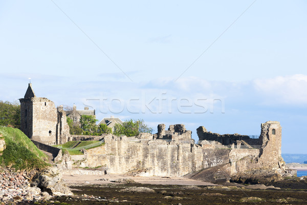 Szent kastély Skócia épület építészet Európa Stock fotó © phbcz