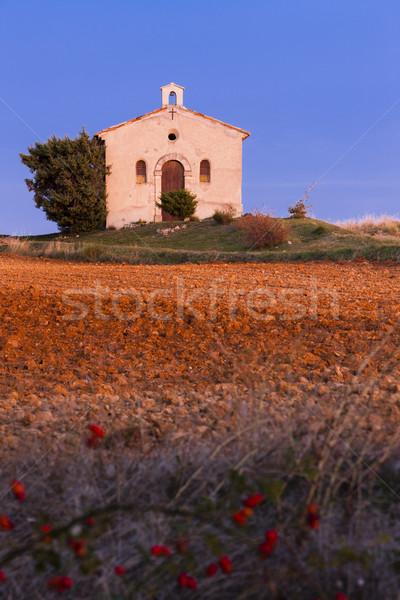 часовня области плато Франция здании путешествия Сток-фото © phbcz