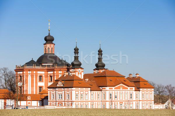 cistercian priory, Mariansky Tynec, Czech Republic Stock photo © phbcz