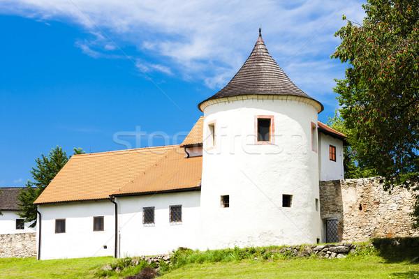 牙城 チェコ共和国 建物 城 アーキテクチャ 歴史 ストックフォト © phbcz