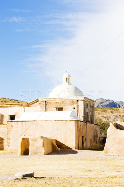 Arizona EUA igreja arquitetura história missão Foto stock © phbcz