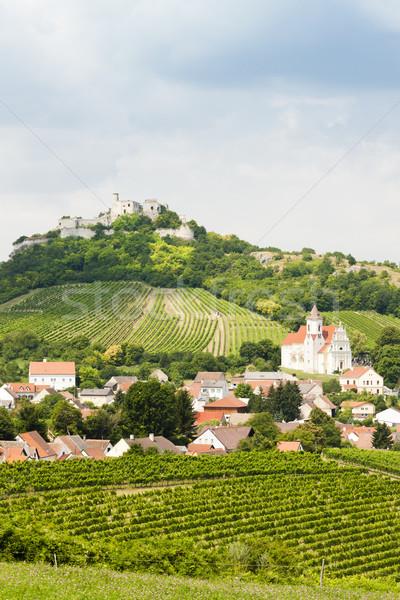 ruins of Falkenstein Castle, Lower Austria, Austria Stock photo © phbcz