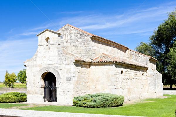 Church of San Juan Bautista, Banos de Cerrato, Castile and Leon, Stock photo © phbcz
