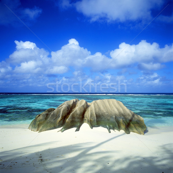 Anse Source D'Argent, La Digue, Seychelles Stock photo © phbcz