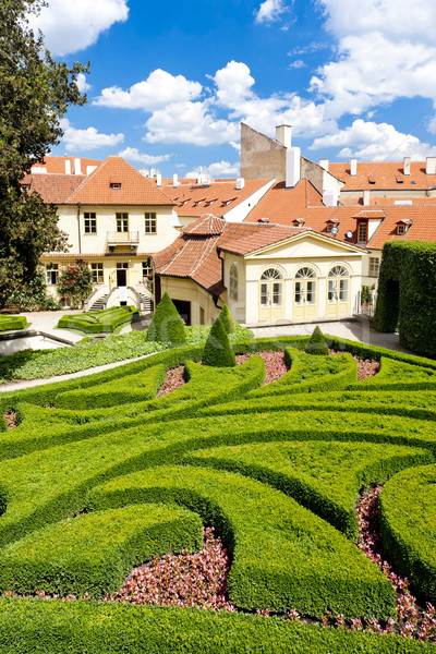 Vrtbovska Garden, Prague, Czech Republic Stock photo © phbcz