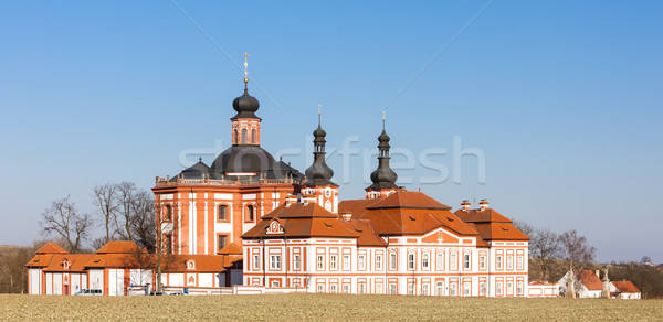 cistercian priory, Mariansky Tynec, Czech Republic Stock photo © phbcz