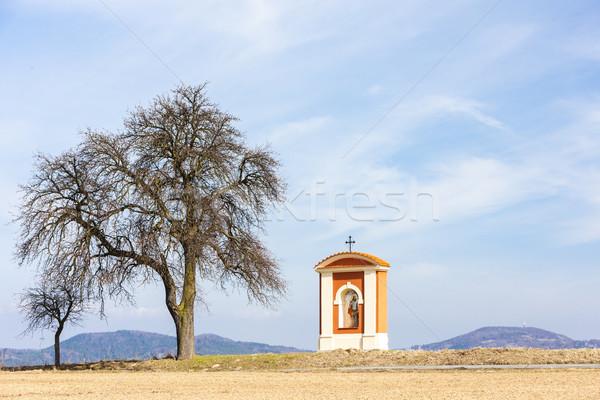 Işkence bölge Çek Cumhuriyeti Bina manzara mimari Stok fotoğraf © phbcz