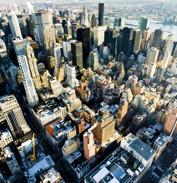 view of Manhattan from The Empire State Building, New York City, Stock photo © phbcz