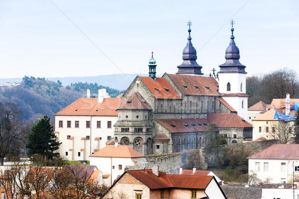 Basílica República Checa casa edifício viajar arquitetura Foto stock © phbcz