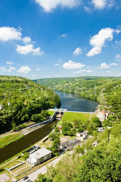dam on Dyje river, Znojmo, Czech Republic Stock photo © phbcz
