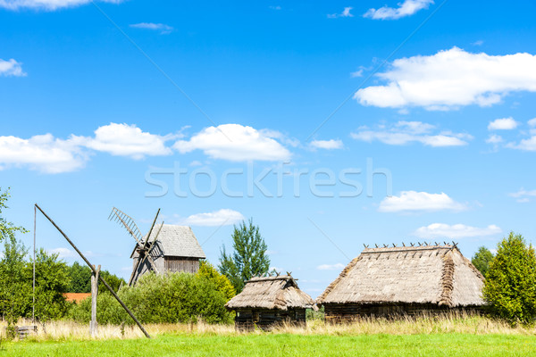 ethnographic park of Russian culture, Bialowieski national park, Stock photo © phbcz