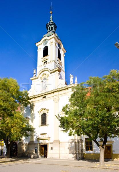 Manastire biserică Bratislava Slovacia constructii Imagine de stoc © phbcz