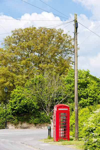 電話 ブース に達する イングランド 電話 ストックフォト © phbcz