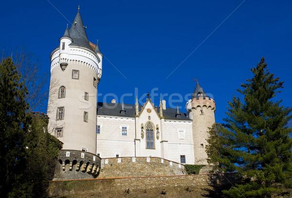 Castle Zleby, Czech Republic Stock photo © phbcz