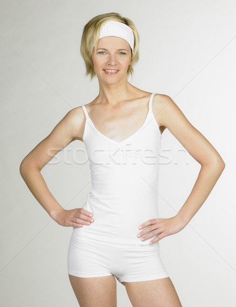 Stock photo: woman wearing sport clothes