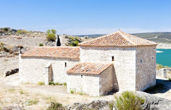 Hermitage of Cristo le San Estaban, Castile and Leon, Spain Stock photo © phbcz