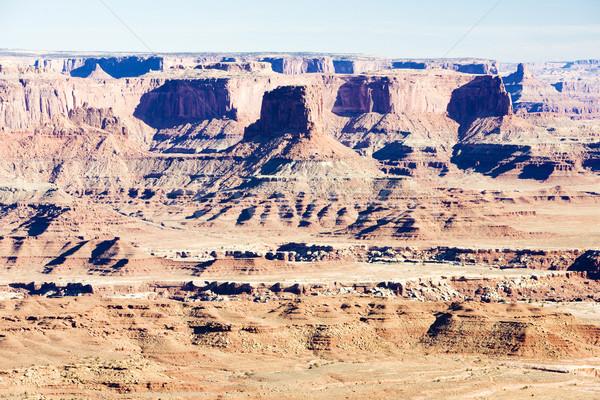 公園 ユタ州 米国 風景 岩 沈黙 ストックフォト © phbcz