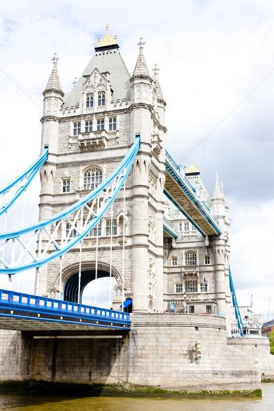 Tower Bridge Londyn wielka brytania budynku miasta podróży Zdjęcia stock © phbcz