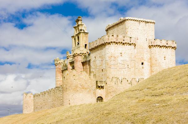 ストックフォト: 城 · スペイン · 建物 · アーキテクチャ · 歴史 · 中世