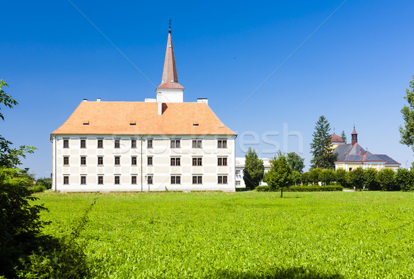 Chropyne Palace, Czech Republic Stock photo © phbcz
