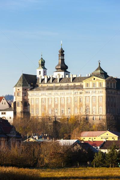 benedictine monastery in Broumov, Czech Republic Stock photo © phbcz