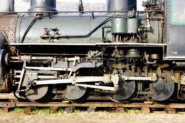detail of steam locomotive, Colorado Railroad Museum, USA Stock photo © phbcz
