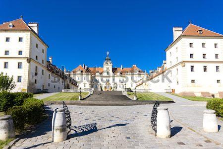 Valdstejnska Garden and Prague Castle, Prague, Czech Republic Stock photo © phbcz