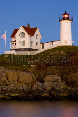 Nubble Lighthouse, Cape Neddick, Maine, USA Stock photo © phbcz