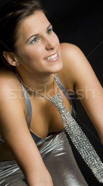 portrait of woman Stock photo © phbcz