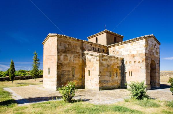 church of San Pedro de la Nave, El Campillo, Zamora Province, Ca Stock photo © phbcz