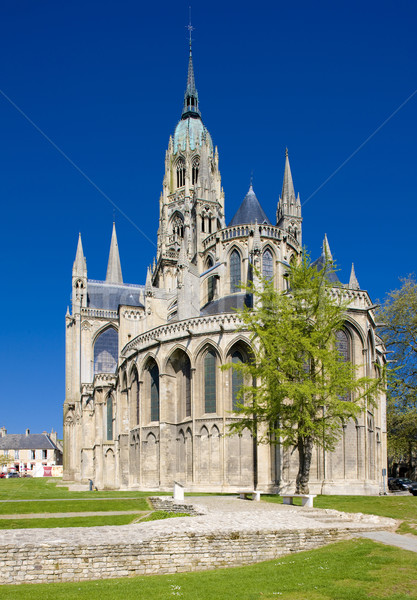Cathedral Notre Dame, Bayeux, Normandy, France Stock photo © phbcz