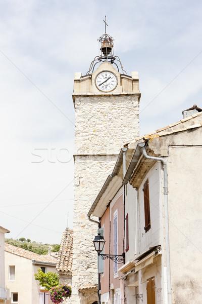 Greoux-les-Bains, Provence, France Stock photo © phbcz