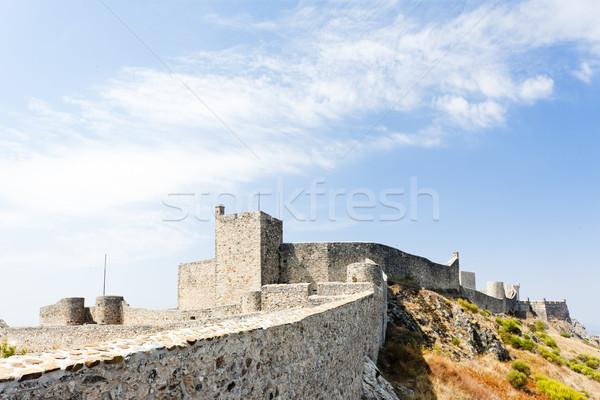 Kale Portekiz Bina seyahat mimari Avrupa Stok fotoğraf © phbcz