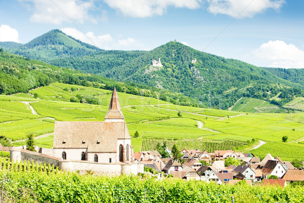 Stock photo: Hunawihr, Alsace, France