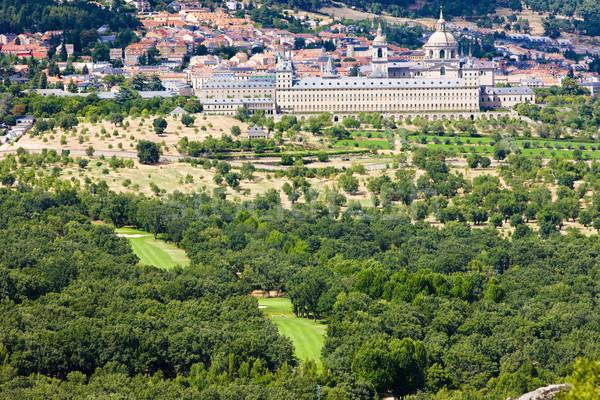 San Lorenzo del Escorial, Spain Stock photo © phbcz