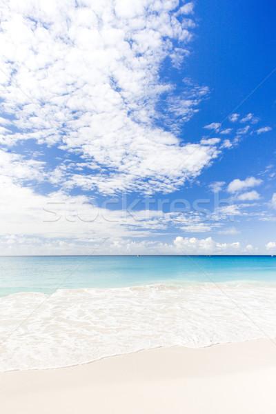 Empresa praia Barbados caribbean nuvens paisagem Foto stock © phbcz