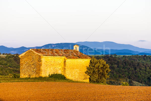 Capela planalto França edifício arquitetura europa Foto stock © phbcz