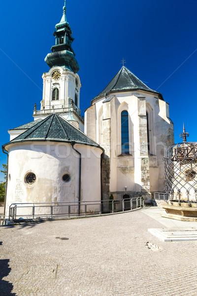 Château Slovaquie bâtiment Voyage architecture Europe Photo stock © phbcz