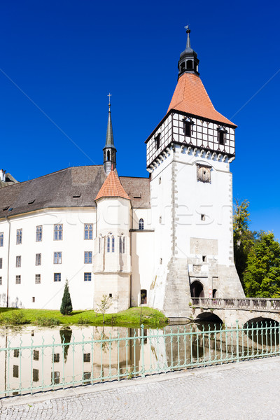 palace Blatna, Czech Republic Stock photo © phbcz