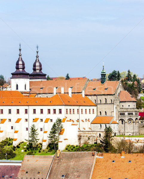 St. Procopius Basilica, Trebic, Czech Republic Stock photo © phbcz